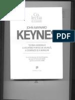-Keynes (1936) Teoria Generala a Ocuparii fortei de munca, a dobanzii si a banilor. Publica.pdf