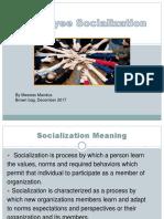 Employee Socialization