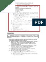 Consignas evaluación