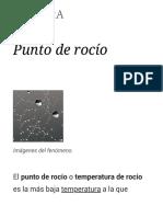 Punto de Rocío - Wikipedia, La Enciclopedia Libre