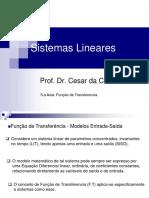 5.a Aula_Sist. Lineares_Funcao de Transferencia