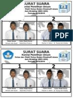 Surat Suara 2018
