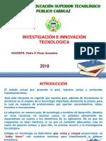 INVESTIGACIÓN E INNOVACIÓN TECNOLOGICA.ppt