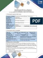 Guía de Actividades y Rúbrica de Evaluación - Fase 5 - Realizar Trabajo Colaborativo 2