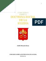 Curso Básico Sobre La Doctrina Social de La Iglesia