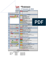 Calendario Academico 2018 1