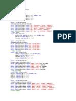 Create Database Taller-Adalberto