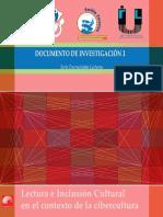 Document de Investigación 1_Serie Encrucijadas Lectoras_Lectura e Inclusión Cultural_CELEI
