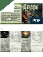 Arkham Scenario Booklet 3