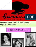 Sarinah Slide