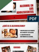 Alcohol en Los Adolescentes