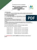 I Torneo de Ajedrez Ranking de Municipalidades