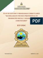 Btp- Promoción Social y Desarrollo Comunitario