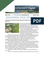 Pa Environment Digest April 2, 2018