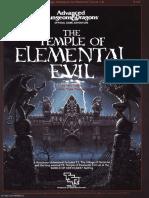 DnD ADD T1-4 Temple of Elemental Evil (1e)