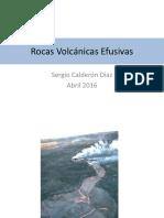 Rocas Volcánicas Efusivas
