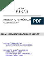 Física II - Aula 01 - Movimento Harmônico Simples.pdf
