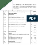 3.0 Linea de Conduccion ( 4055 Ml)