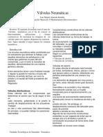Valvulas Neumaticas_trabajo Segundo Corte
