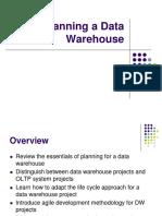 Planning a Data Warehouse