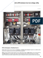 Electrical-Engineering-portal.com-Automatic Transfer Switch ATS Between Two Low-Voltage Utility Supplies