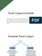 Slide Longsor