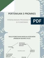 PERTEMUAN 3 PROMKES