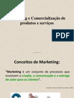 Aula Marketing e Comercializacao de Produtos e Servicos