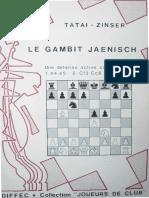 Tatai-Zinser - Le Gambit Jaenisch-OCR, 47p