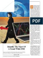 Identify the Start of a Trend With DMI