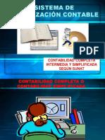 Contabilidad Completa, Incompleta y Simplificada