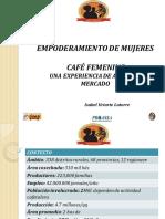 5. Cafe Femenino Una Experiencia de Acceso Al Mercado