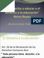 El Derecho a Educar y El Derecho a La Educacion 2