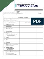 (5) Formulir Penolakan Tindakan Kedokteran