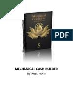 Mechanical Cash Builder