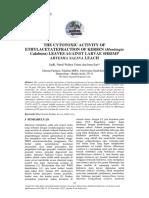 Anzdoc.com the Cytotoxic Activity of Ethylacetatefraction of