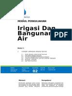 Modul II Jar Irigasi  Drainase (1).doc