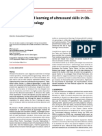 b5445 Assessment and Learning of Ultrasound Skills in Obstetrics Gynecology