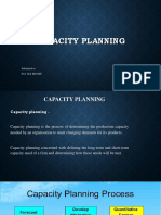 Capacity Planning Ppt
