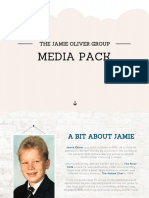 Jamie Oliver Media Group Media Kit 2016 September
