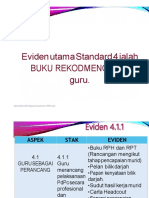 Contoh Evidens Pdpc Standard 4
