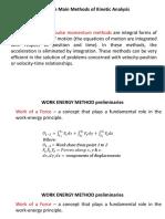 Work Energy Method