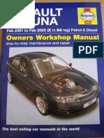 Renault Laguna 2001 2005