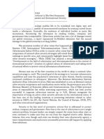 Position Paper Cyber Security