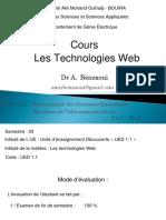 Les Technologies Web