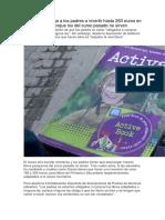 La LOMCE Obliga a Los Padres a Invertir Hasta 250 Euros en Libros de Texto Porque Los Del Curso Pasado No Sirven