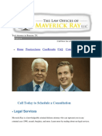 The Law Offices of Maverick Ray LLC