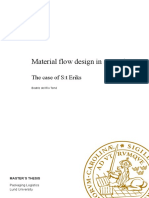 Material Flow Design in a Warehouse - General