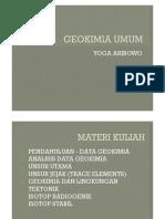 GEOKIMIA