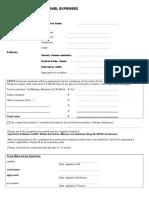 ApplicationExpensesForm OT SW GmbH PS Natascha Peters